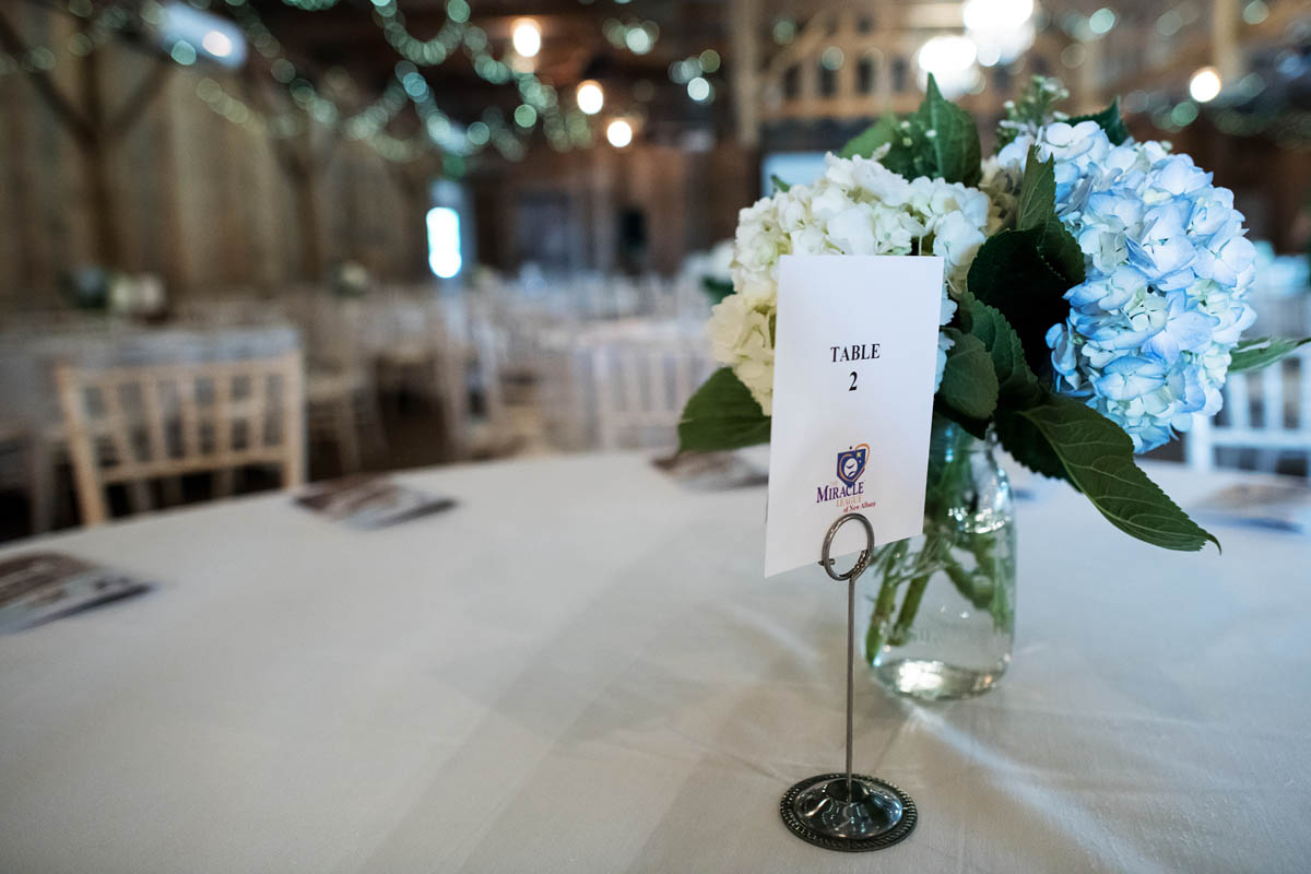 Table settings and detail
